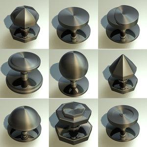door knobs 3ds