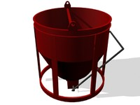 max construction bucket standard concrete