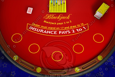 free blackjack 3d model