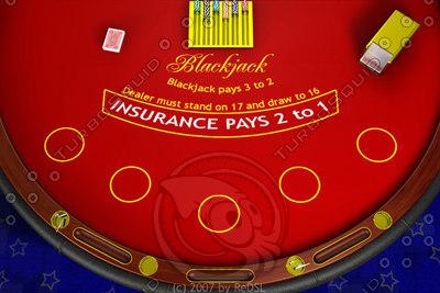 free blackjack 3d model