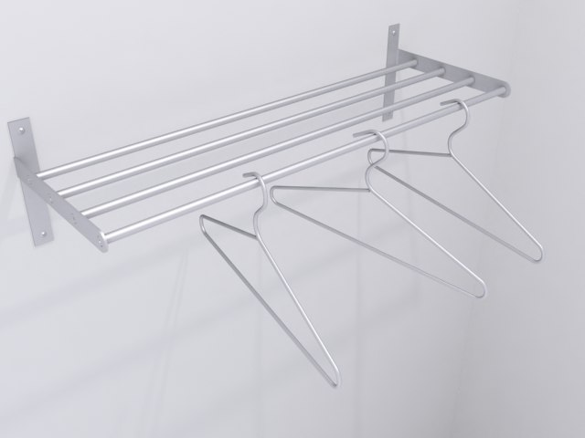 3ds coat rack hangers