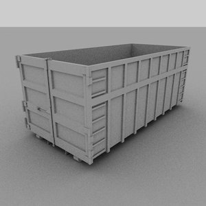dirt container obj