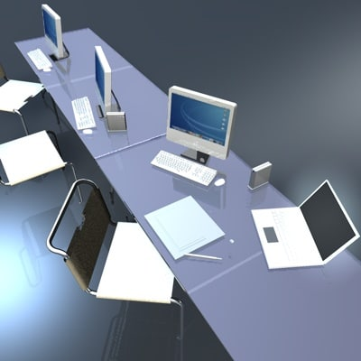 3ds desk table computer