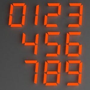 lightwave digital numbers