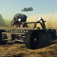 futuristic dune buggy pzdune pz3