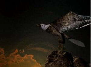 maya eagle bird