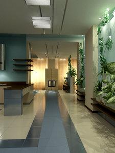 furniture modelled 3d max