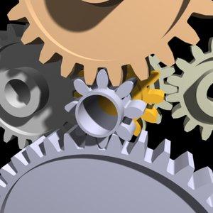 3d spur gears