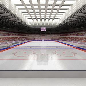 3d ice hockey hall