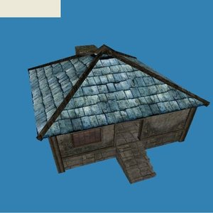 free house s x 3d model