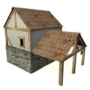 3d medieval tavern