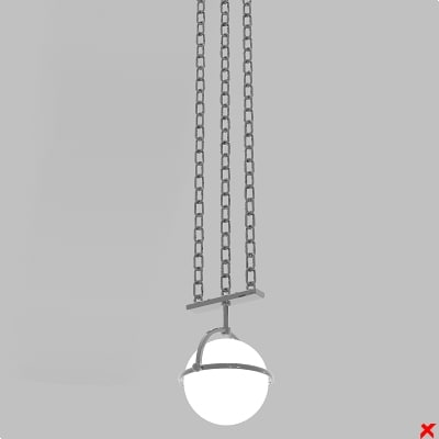 dxf lamp hanging