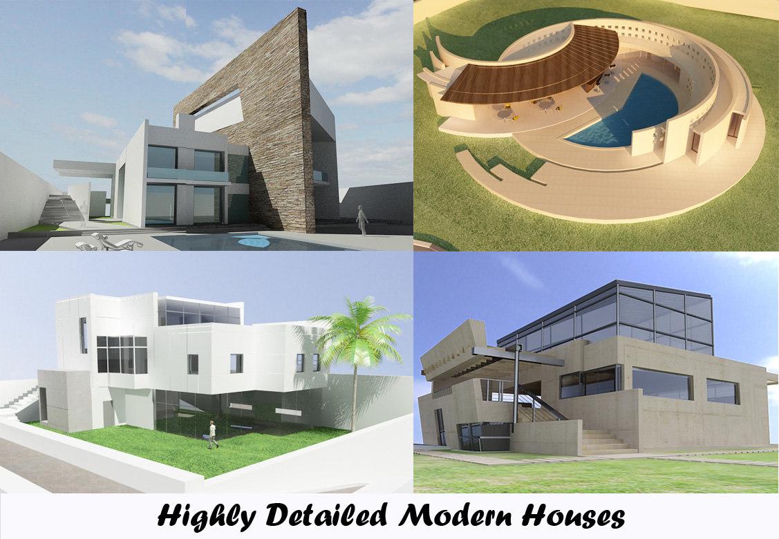 modern houses max