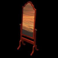 antique mirror poser pzmirror 3d pz3