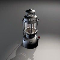 3d max tilly lamp light