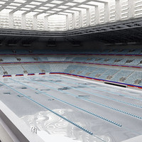 indoor swimming-pool swimming 3d max
