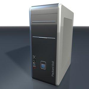 computer 3d model