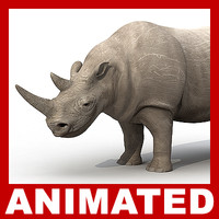 3d 3ds rhino rigged polys animation