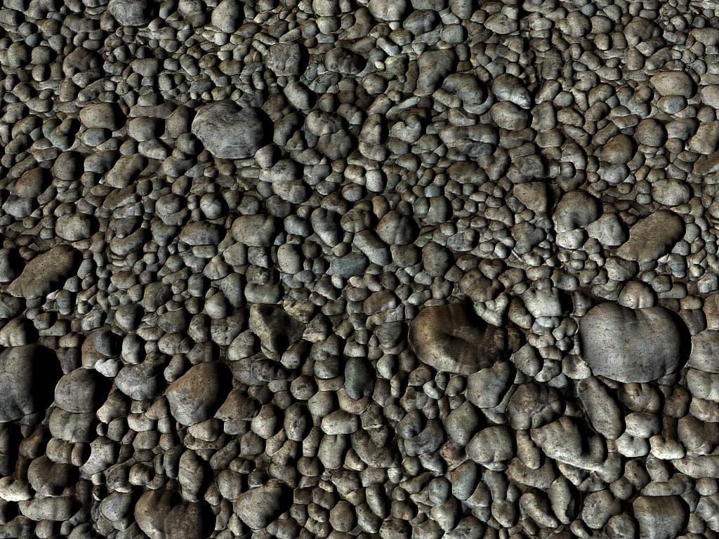 riverbed pebbles max