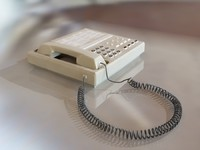 old office phone 3d model