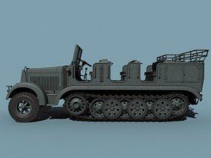 3d wwii german model