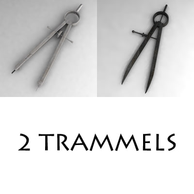 trammels 3d dxf