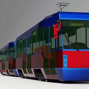 3d tram 105n