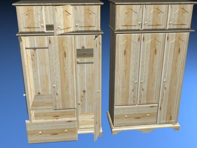 wardrobes 3d model