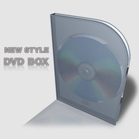 dvd box 3d model