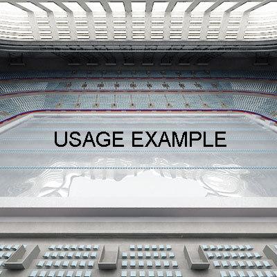 3dsmax indoor swimming-pool swimming