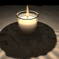 3d tea light