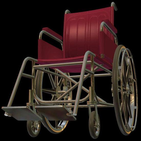 poser medical wheelchair pzwheelchr