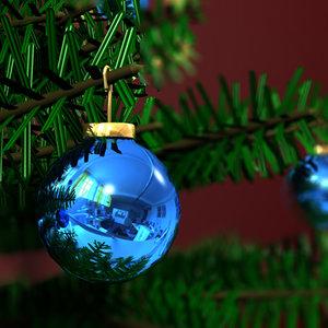 3d model of christmas tree
