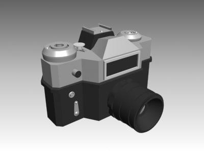 3d zenith camera model