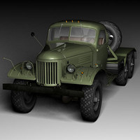 zil-157v zil-157 military truck max