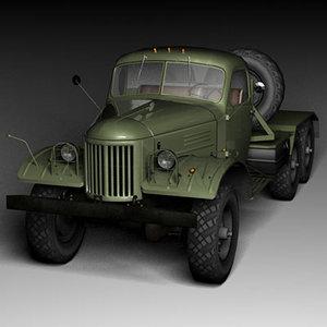 zil-157v zil-157 military truck max