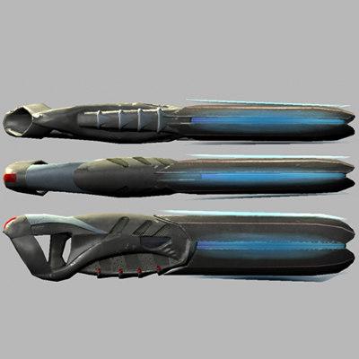 s max blaster sci-fi