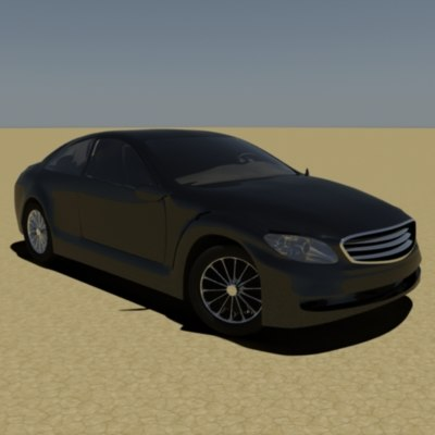 3d mercedes cl600