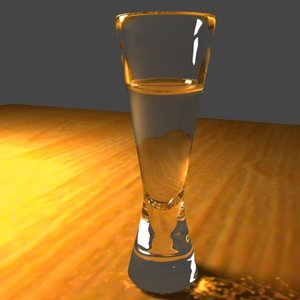 wine glass 3d max