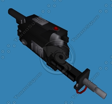 ghostbusters proton ghost 3d model