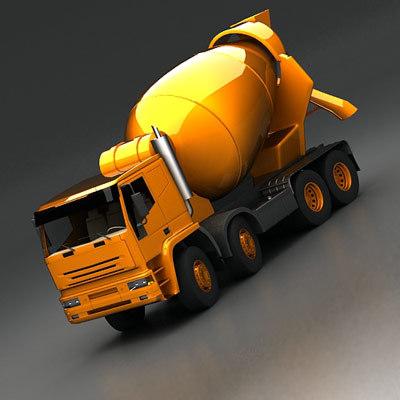 max cement mixer 8x4