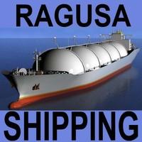 LNG Tanker Ship