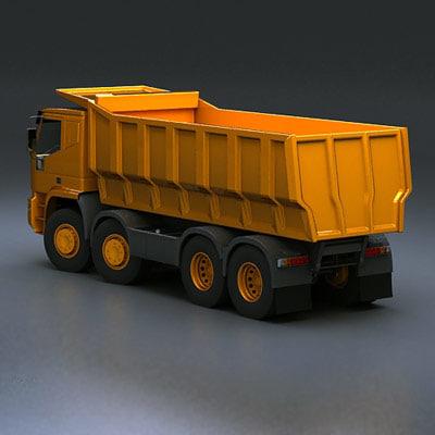 3d truck dump 8x4