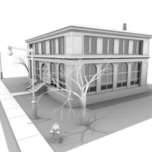 lightwave building town halls