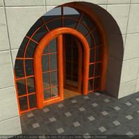 free 3ds model door