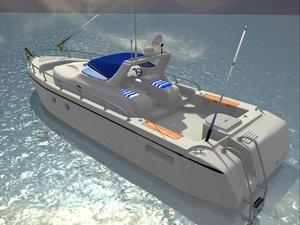 max pleasure fishing boat