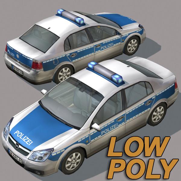 3ds max police car german