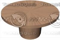 maya 60 wood table dining