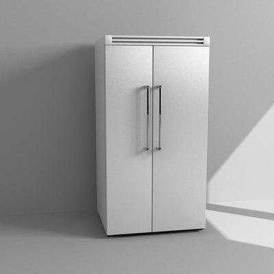 3d refrigerator freezer