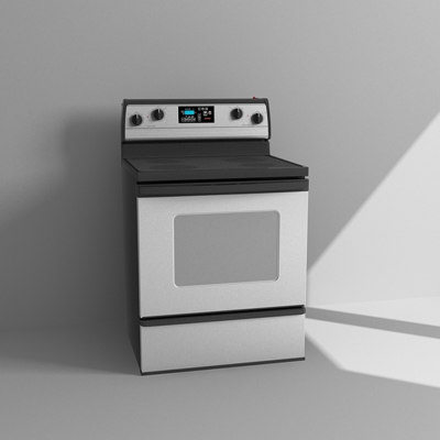 electric cooking range 3d max